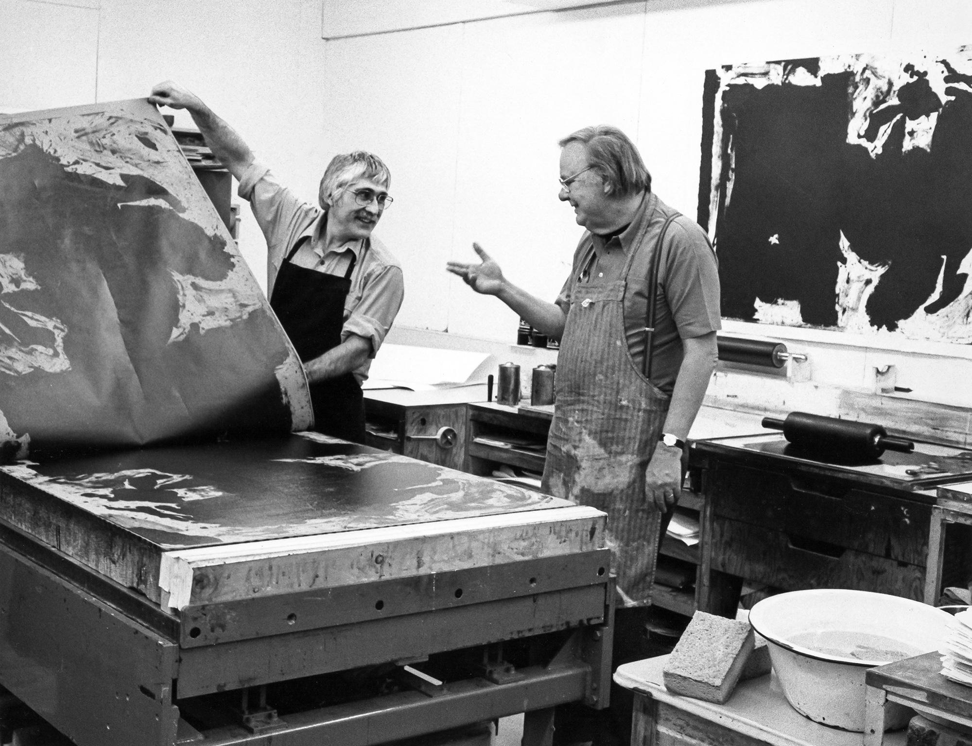 Kenneth Tyler The Art Of Collaboration Herron School Of